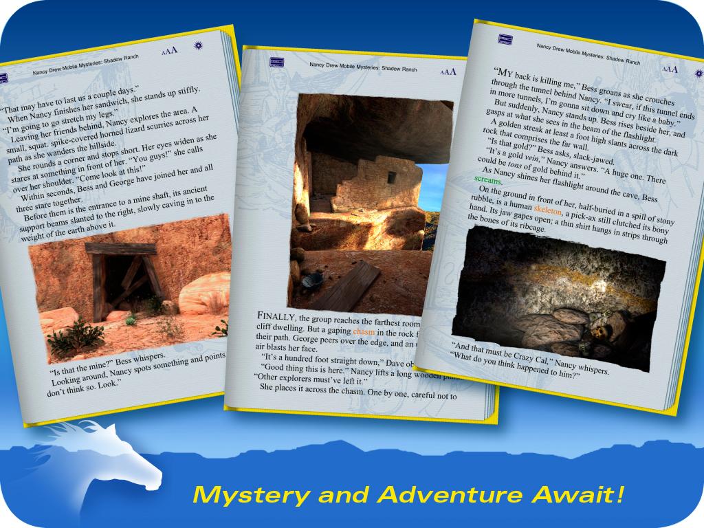Тебя ждут загадки и приключения!