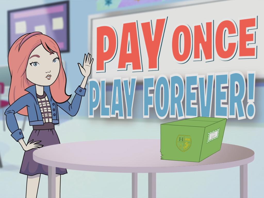 Заплати один раз - получи доступ навсегда!