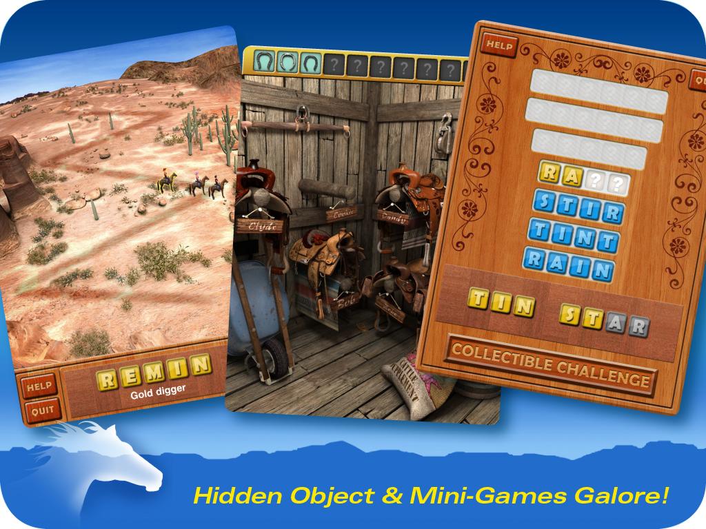 Уйма спрятанных предметов и мини-игр!